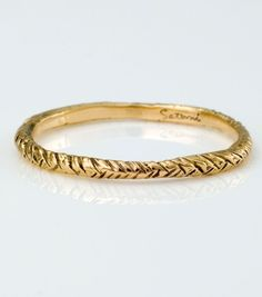 Catbird::shop by category::JEWELRY::Rings::Golden Plait Band