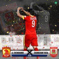 Marcelo Moreno - Guangzhou Evergrande x Changchun Yatai - China