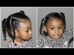 Kids Hair Style, Peinados, Easy Hairstyle For Kids Hairstyles Kids Hairstyles Easy Little Girl Hairstyles, Cute Hairstyles For Kids, Girls Natural Hairstyles, Baby Girl Hairstyles, Kids Braided Hairstyles, Hairstyles Haircuts, Teenage Hairstyles, Easy Black Girl Hairstyles, Kids Hairstyle