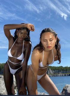 Black Girl Aesthetic, Summer Aesthetic, Aesthetic Indie, Bikinis Tumblr, Summer Girls, Pretty People, Beautiful People, Bikini Poses, Summer Pictures