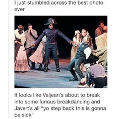 Hahahah>>>> Not to mention the two people hugging in the background. XD