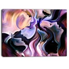 Designart - Voyages to Inner Self - Abstract Canvas Art Print | Overstock.com Shopping - The Best Deals on Gallery Wrapped Canvas