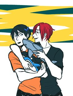Free! ~~ Gifts for Haruka! ~~ A shark from Rin