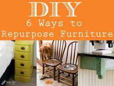 6 Creative Ways To Repurpose Furniture