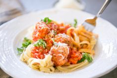 Current food crush: Pasta and Meatballs (Paleo)
