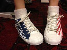 DIY Teen: Patriotic Shoes DIY