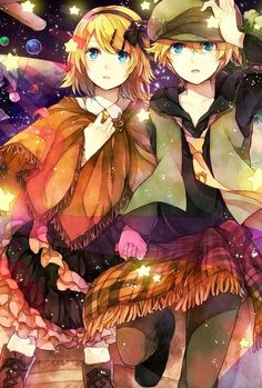 Len x Rin (Vocaloid) Twincest reminds me of Hansel and Gretel
