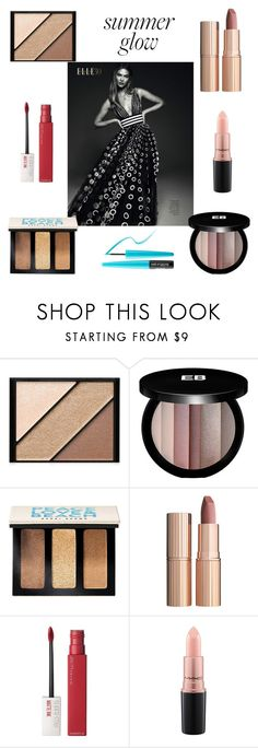 """""""Karlie Kloss"""" by cheapchicceleb ❤ liked on Polyvore featuring beauty, Elizabeth Arden, Carolina Herrera, Edward Bess, Bobbi Brown Cosmetics, Charlotte Tilbury, Maybelline, MAC Cosmetics, MAKE UP FOR EVER and karliekloss"""