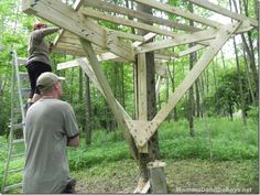 Treehouse DIY part 1
