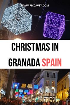 Granada, Spain is home to Sierra Nevada ski resort and the Alhambra Palace. Spending Christmas holidays in this social Spanish city is a good idea for a break over the festive season. Christmas In Spain, Christmas Holidays, Granada Spain, Spain Holidays, Carnivals, Sierra Nevada, Andalusia, Holiday Festival, Holiday Parties