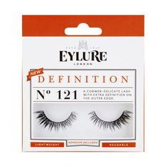 230ef53c258 Eylure false eyelashes. No. 121 Definition. Fake Lashes, Wispy Lashes, False