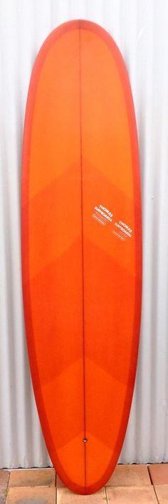 Orange Thomas Surfboard