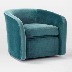 Edam Swivel Chair #westelm