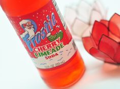 Frostie Cherry Limeade Soda. Delightful. I'd like to seek out more from this brand.