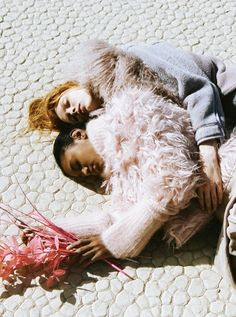 Dani Witt and Ysaunny Brito by Marlene Marino for Love magazine Fall 2014