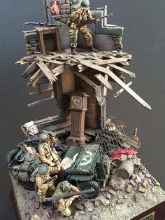 1:35 scale diorama by Tetsuo Horikawa.