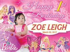 Barbie everybody's girl theme tarpaulin design - Get Layout Birthday Wishes For Boyfriend, Happy Birthday Mom, Girl Birthday Themes, Barbie Birthday, Girl Themes, Birthday Design, Girl First Birthday, Funny Birthday Cards, Boy Birthday Parties