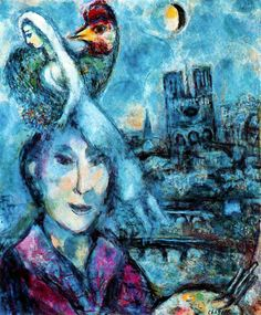 Marc Chagall. Self Portrait (1959-1968).