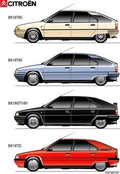 BX #citroen Citroen Ds, Retro Cars, Vintage Cars, K100 Bmw, Air Car, Psa Peugeot, Small Cars, Motor Car, Concept Cars