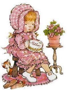 28 Ideas for sewing illustration sarah kay Sarah Key, Holly Hobbie, Vintage Girls, Vintage Children, Cute Images, Cute Pictures, Images Vintage, Cute Illustration, Retro