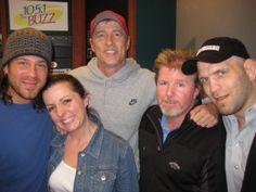 Christian Kane News   Christian Kane, Stacey, Nelly, Terry & Matt Linland