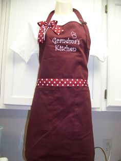 World's Best Grandma Apron Can be by memoriescollection on Etsy