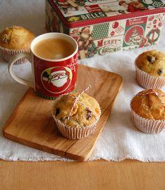 Panettone muffins / Muffins de panetone