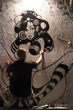 Tristan Eaton #streetart #tristaneaton #graffiti #art