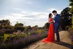 Ye Vonn and Nicholas' Two Day pre wedding and engagement shoot starting at Buckland Manor and ending at the lavender fields and villages of the Cotswolds. Lavender Fields, Couple Shoot, Engagement Shoots, Acre, Countryside, Wedding Photography, Weddings, Couples, Wedding Shot