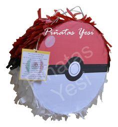 Piñata artesanal hecha a mano de Pokemon