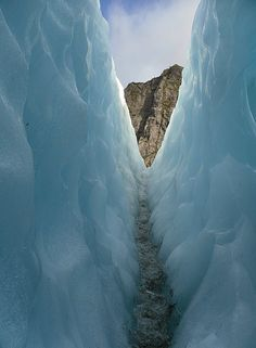 http://www.TravelPod.com - Crevasses by TravelPod member Antoniak, from Franz Josef, New Zealand