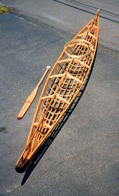 Norton Sound replica, from Harvey Golden's website. Kayak Boats, Canoe And Kayak, Kayak Camping, Wood Canoe, Wooden Kayak, Kayaks, Kayak Stand, Classic Wooden Boats, Wooden Boat Building