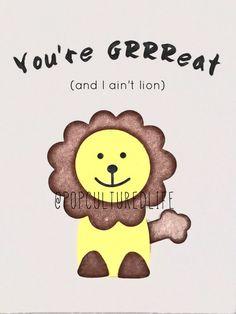 Lion Print  Lion Nursery Decor  Safari by MyPopCulturedLife