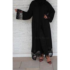 NEW Limited edition Khadija rich in quality and design | An investment piece to treasure   Available in all sizes  www.sheikhaboutique.com  #abaya #fashion #ootd #arabstyle #abayat #dubai #london #modest #muslimah #simplycovered #abayaaddict #3abaya #modestfashion #hijabstyle #maxidress #fashionista #chanel #abayablogger #loveabaya #hijabfashion #kimono #chicmuslimah #newcollection