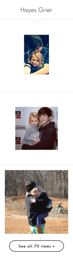 """Hayes Grier"" by neuzaisabel ❤ liked on Polyvore featuring YouTubers, boys, hayesgrier, viners, magcon, hayes, people, nash, nash grier and hayes grier"