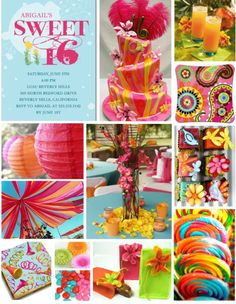 Sweet 16th party idea
