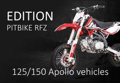 Pit bike RFZ Apollo vehicles