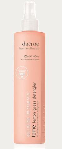 Wellbeing tame Lemongrass strangler A lightweight conditioning must that leaves hair manageable, luxuriously soft and silky www.davroe.com