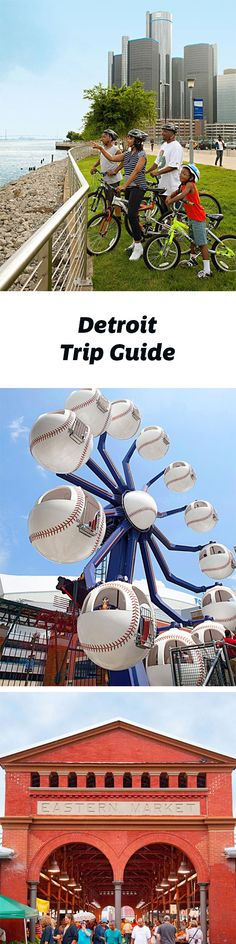 Connect to Detroit's energetic spirit on bike rides, at Comerica Park, on free walking tours of the city and more. Trip guide: http://www.midwestliving.com/travel/michigan/detroit/detroit-trip-guide/