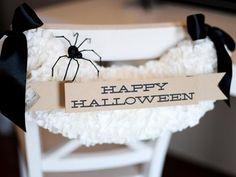 DIY Halloween : DIY Halloween Chair DIY Halloween Decor