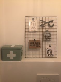 Toilet decoratie idee.