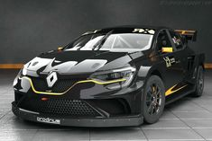 Former World Rally Championship-winning team Prodrive is set to build and develop a brand new Renault Megane RX Supercar for the newly formed GCK team to contest the FIA World Rallycross Championship in Megane Sport, Megane Rs, New Renault, Renault Sport, Supercars, Clio Rs, Renault Megane, Auto Retro, Car Tuning