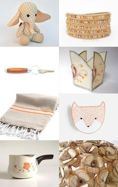Peachie by Patricia on Etsy--Pinned with TreasuryPin.com