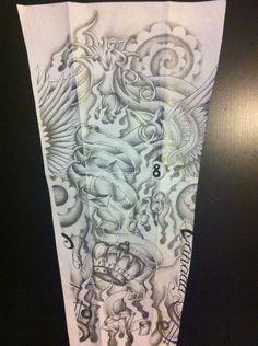 e3144fe96 sleeve tattoo design by tattoosuzette Free Tattoo Designs, Tattoo Sleeve  Designs, Sleeve Tattoos,