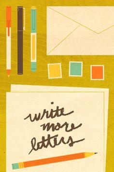 Lydia Nichols - Write More Letters