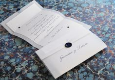 Wedding Card: Imperium Style by MentaDesigns