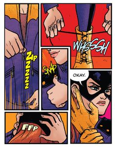 Suiting Up in Batgirl #36 (2014)