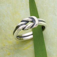 Spring Collection - Lover's Knot Ring #JamesAvery