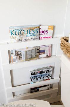 Superieur DIY Bathroom Magazine Rack 3