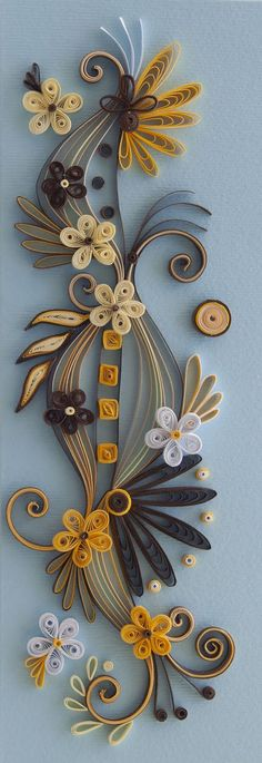 is a talented quilling artist from Bulgaria. Her unique quilling cards bring joy to people around the world. Neli Quilling, Quilling Work, Paper Quilling Designs, Quilling Paper Craft, Quilling Patterns, Paper Crafts, Origami, Rolled Paper Art, Quilled Creations